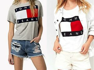 Image is loading Tommy-Jeans-T-shirt-Tommy-Hilfiger-Shirt-S-M-L-