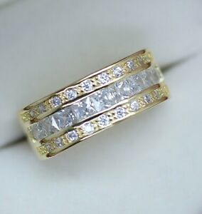 Vintage-Jewellery-Gold-Ring-with-White-Sapphires-Antique-Art-Deco-Jewelry-8-P