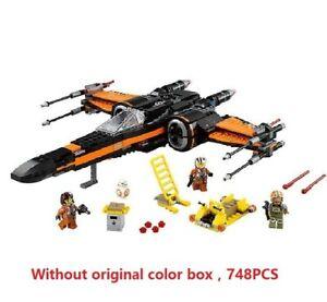 DE Star Wars Building Blocks Model First Order Poe/'s X Wing Fighter Wars Junge