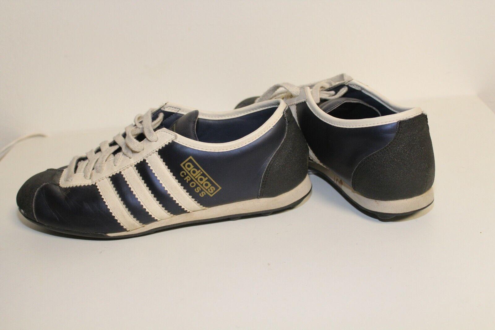 Schwarz Weiß 40 Größe in Schuhe Vintage Cross Retro Adidas