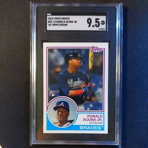 2018-Topps-Update-Ronald-Acuna-Jr-1983-RC-83-13-SGC-9-5-MINT-Braves-PSA-10