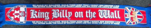KING BILLY ON THE WALL SCARF