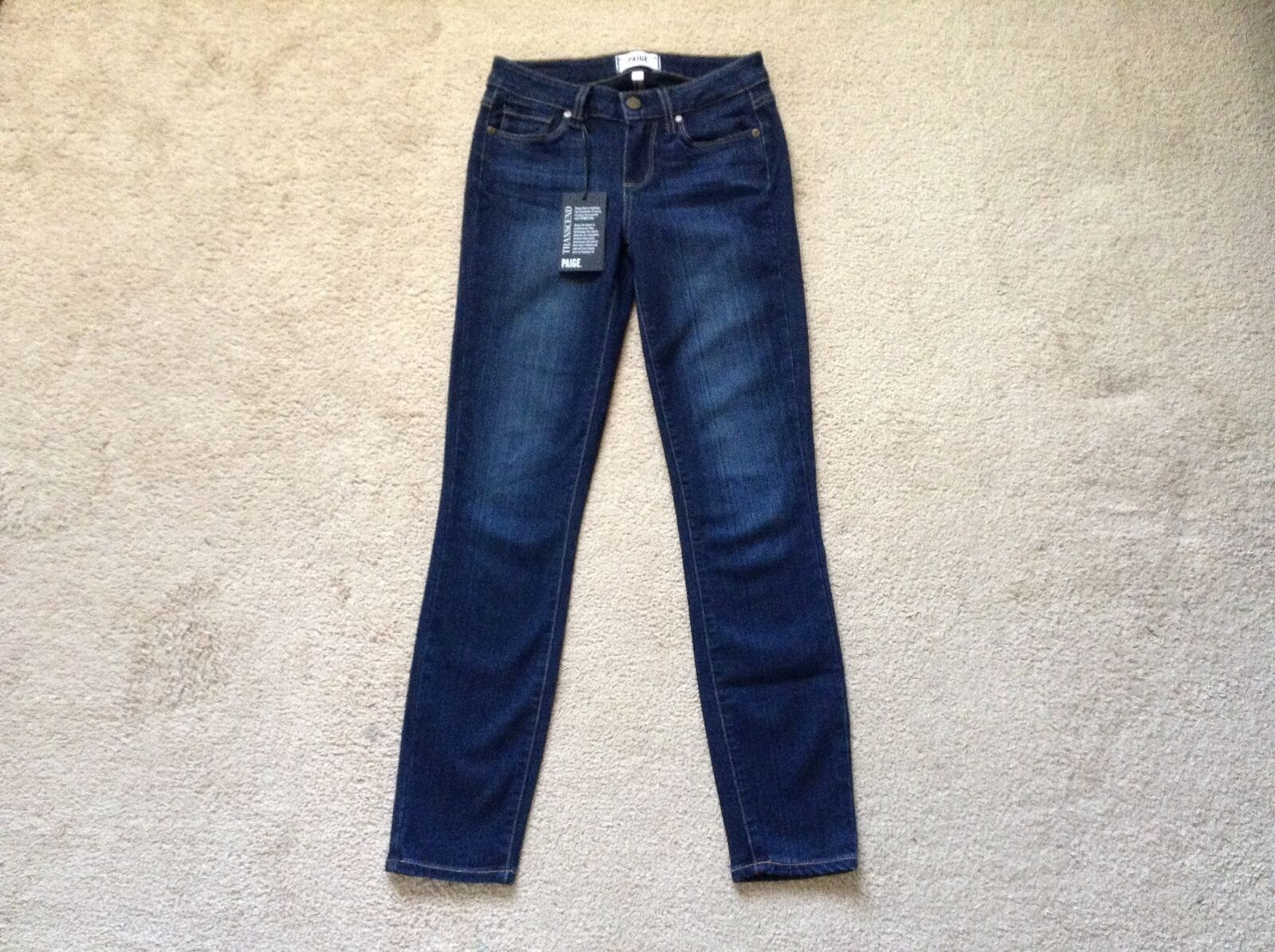 NWT PAIGE  'Transcend' Verdugo Skinny JeansHartmann25Nordstrom's Exclu