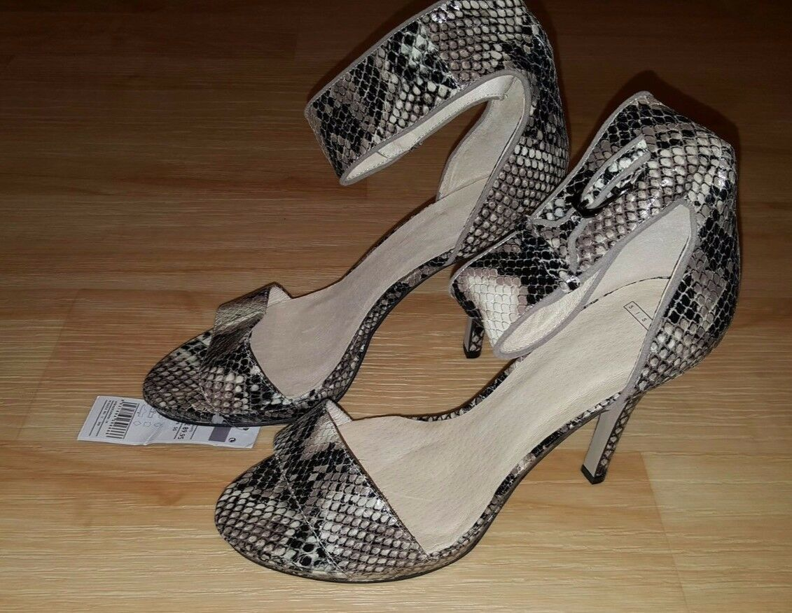 SISLEY Look Patent Stiletto Heels Size UK 6 (EU 39) RRP 90£