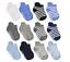 Anti Slip Non SkidAnkle Socks With Grips for Baby Toddler Kids Boys Girls