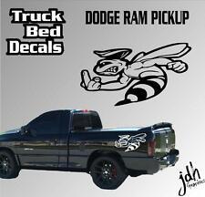 Funny Dodge Ram Truck Bed Decal Sticker Dodge Ram 1500 2500 3500 Super Bee Scat