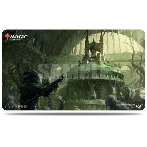 Ultra Pro Magic the Gathering Guilds of Ravnica OVERGROWN TOMB PLAYMAT BOX