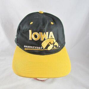 detailed look 48dc9 f5d52 Image is loading IOWA-Hawkeyes-Hat-Snapback-NCAA-Basketball-Football-Twins-