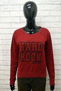 Felpa-Donna-HARD-ROCK-BARCELONA-Taglia-Size-S-Cardigan-Maglia-Sweatshirt-Woman