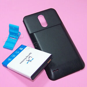 New-8000mAh-Replacement-Extended-Battery-Back-Door-Cover-f-LG-Stylo-3-Plus-MP450