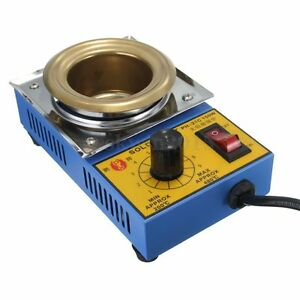 Solder-Pot-Soldering-Desoldering-Bath-Stainless-Steel-Plate-150W-300W-Uk-Seller