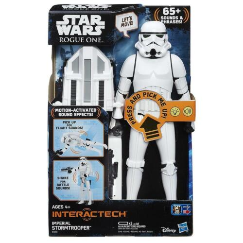 """Rogue One Star Wars Interactech Imperial Stormtrooper 12"""" Figure By Hasbro"""