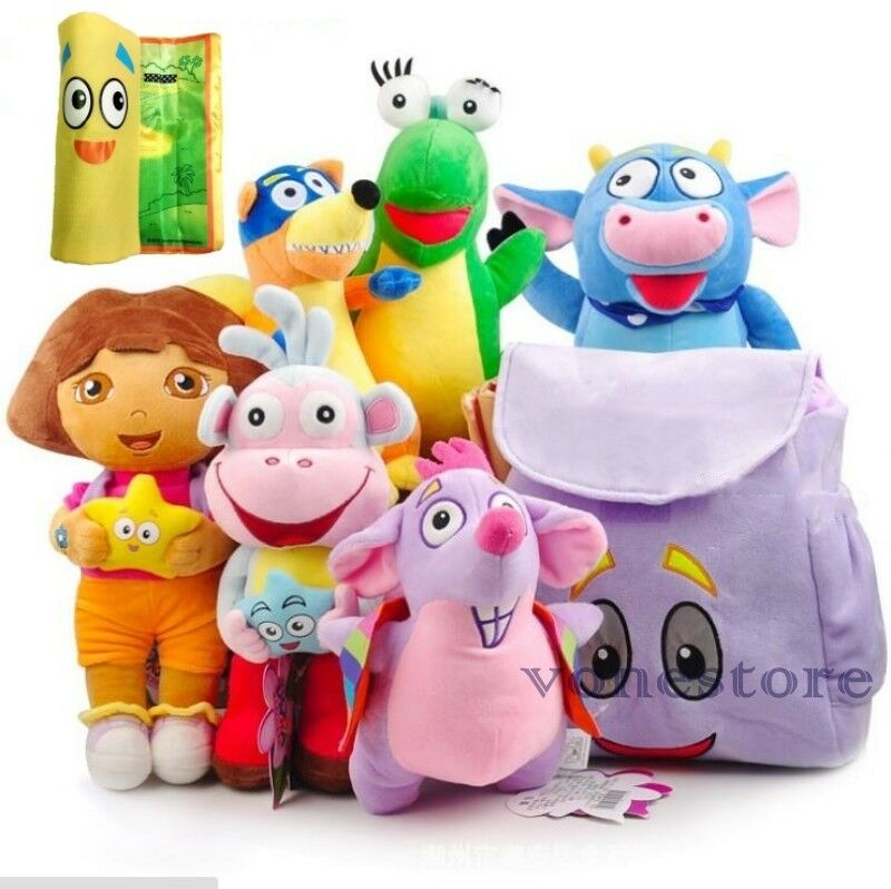 Dora The Explorer Toys : Dora the explorer isa soft cuddly stuffed plush toy doll