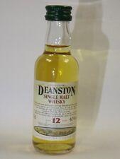 Deanston 12 Whisky 50ml 40% mini flaschen bottle miniature bottela mignonnette