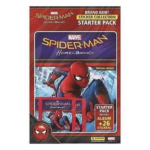 Official Panini Marvel Spiderman Homecoming Sticker Starter Pack NEW /& SEALED UK