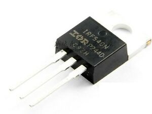 10PCS-IRF540N-IRF540-TO-220-N-Channel-33A-100V-Power-MOSFET