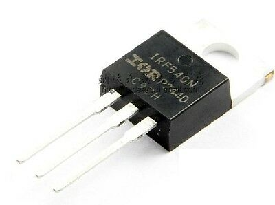 10PCS IRF540N IRF540 TO-220 N-Channel 33A 100V Power MOSFET
