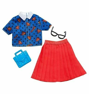 NEW 2019 Barbie DC COMICS Wonder Woman Fashion Pack  SKIRT SET,PURSE GLASSES