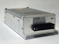 Pfeiffer Balzers Tcp 120 Turbo Pump Controller In 100 240v 5060 Hz Out 150va