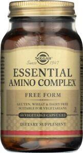 Solgar Essential Amino Complex 60 Vegetable Capsules