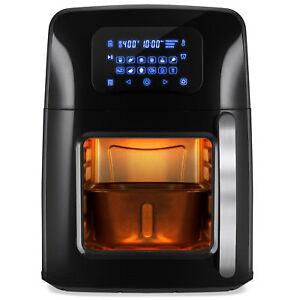 BCP-12-4qt-XL-Air-Fryer-Oven-Rotisserie-Dehydrator-w-12-Presets-7-Accessories