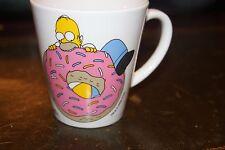 Homer Simpson Donut Doughnut With Sprinkles Coffee Mug Cup Downspace Ltd London