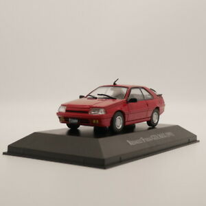 IXO Renault Fuego GTA MAX 1991 Red 1//43 Diecast Toys Car Models Collection