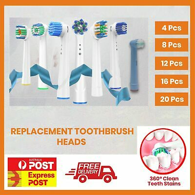 20x Electric Toothbrush Heads Oral B Compatible