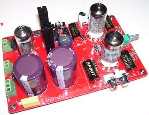 Modulo preamplificatore valvolare stereo HI-FI Classe A HENGPEN-637 BIG