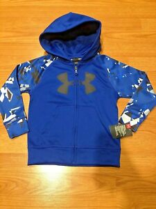 boys camo under armour hoodie