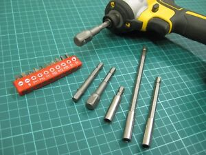 Power Drill Bits PZ2 10 x Quality 50mm Fits Bocsh Makita Dewalt Impact Driver