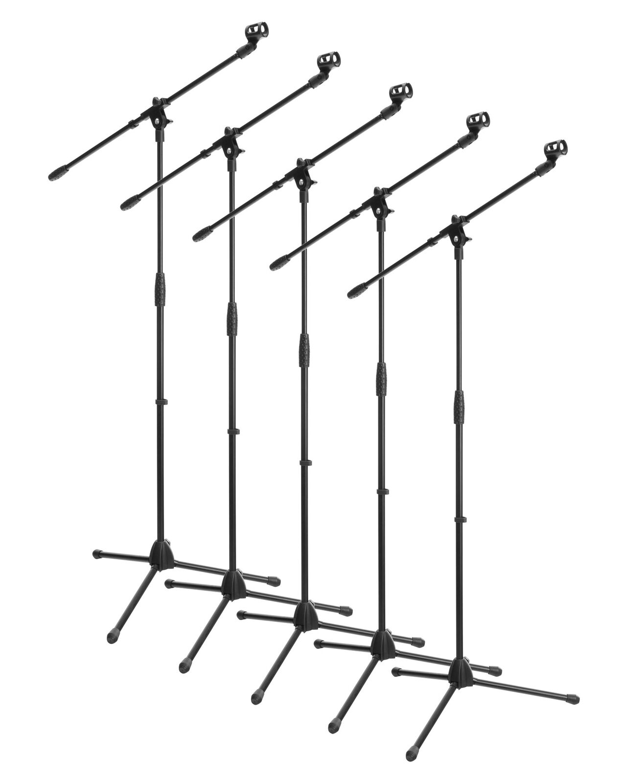 5x Support Trepied Monture Potence a Microphone Studio Scene Hauteur Ajustable