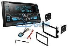 KENWOOD STEREO SIRIUS XM READY RADIO WITH DASH KIT WITH FRONT USB & AUX INPUTS
