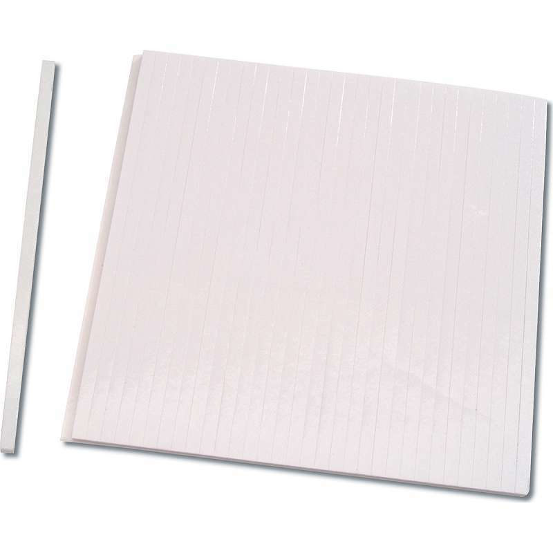 240 Pieces Foam Sticky Strips 0.4 inch Wide Dual-Adhesive 3D Foam Tapes Foam Pop Strips for Shaker Card Scrapbooking 16 Sheets