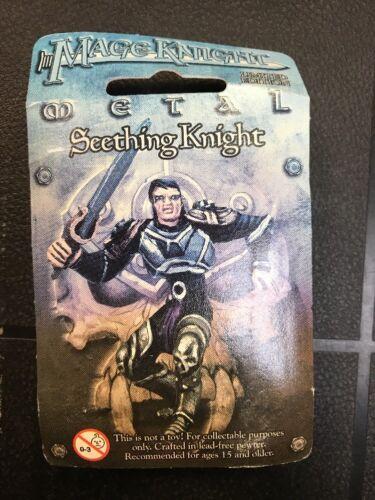 Amazing! Mage Seething Knight WZK524 Pewter Miniature Figure
