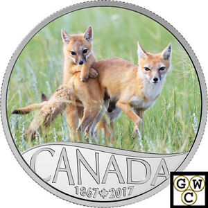 2017-039-Wild-Swift-Fox-Celebrating-Canada-039-s-150th-039-Color-Prf-10-9999Silver-18085