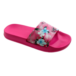 6da4656995c4 Image is loading New-Women-Juniors-Babe-Slides-Slippers-Floral-Fusa-