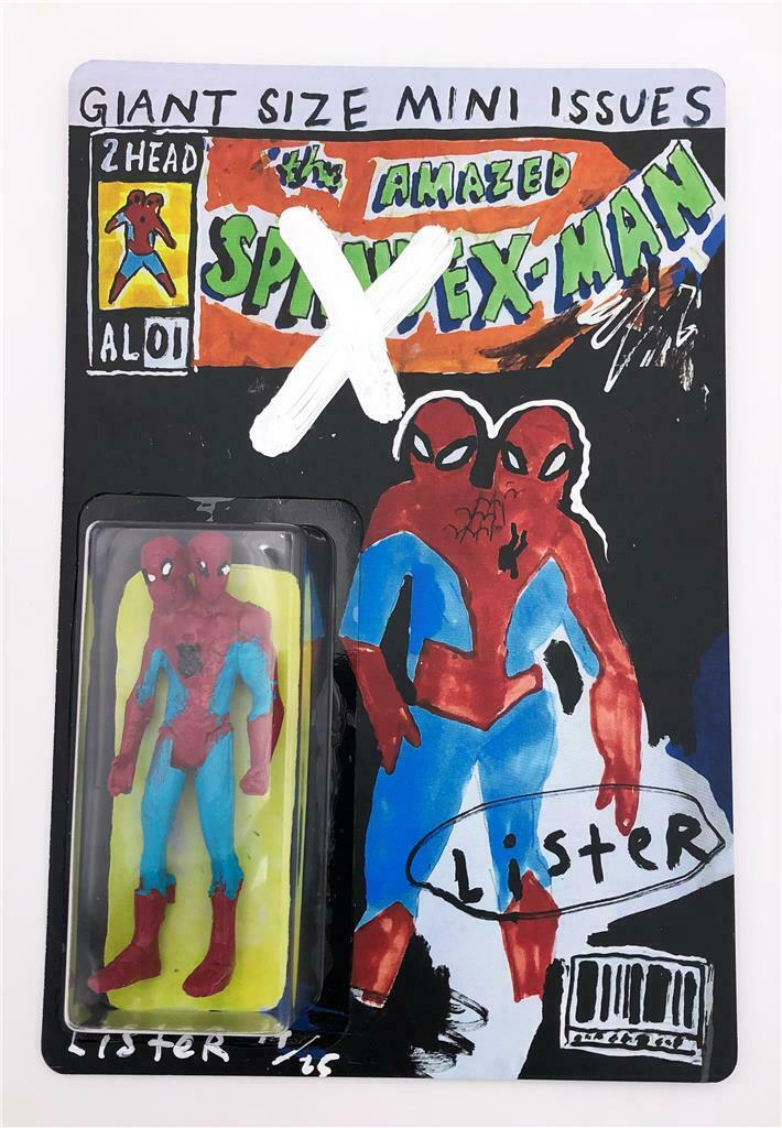 THE AMAZED SPANDEX-MAN 2 HEADED RESIN ART FIGURE ANTHONY LISTER 14 25 SDCC 2019