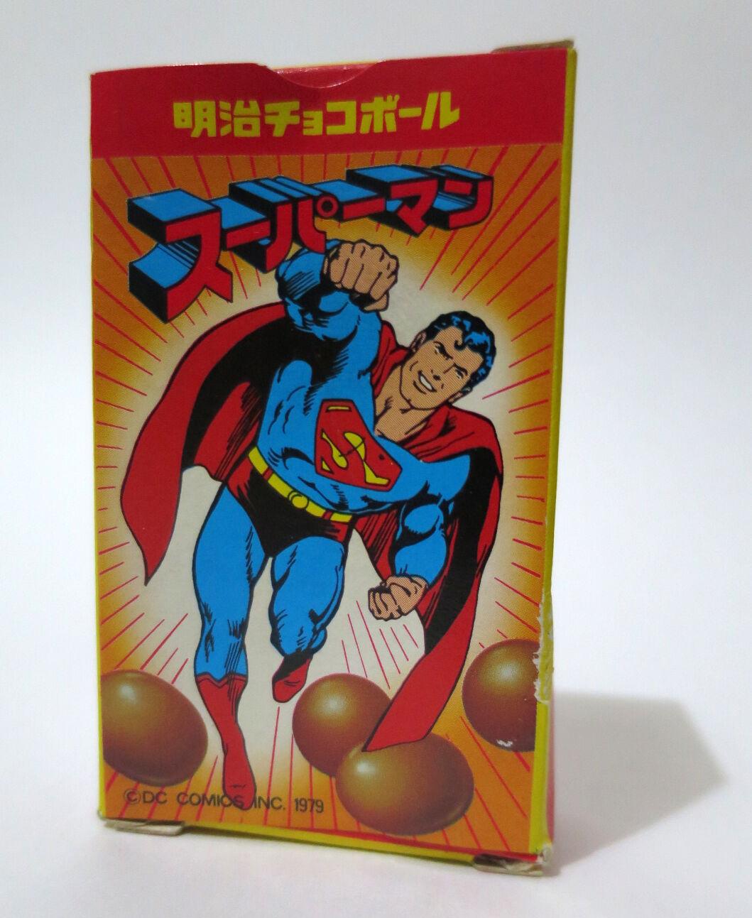 Original - box fr die meiji - x dc comics modell vintage shokugan spielzeug 1979 japan selten