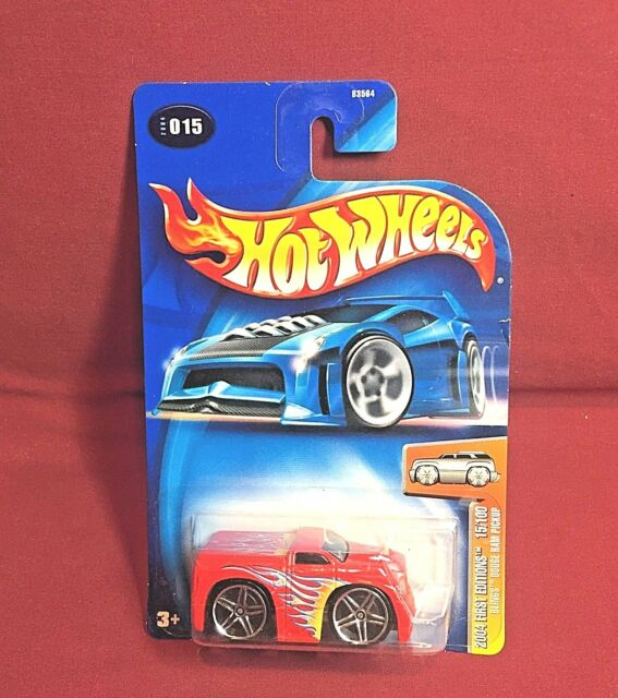 2004 Hot Wheels First Editions /'Tooned Camaro Z28 1968 71 Dark Red