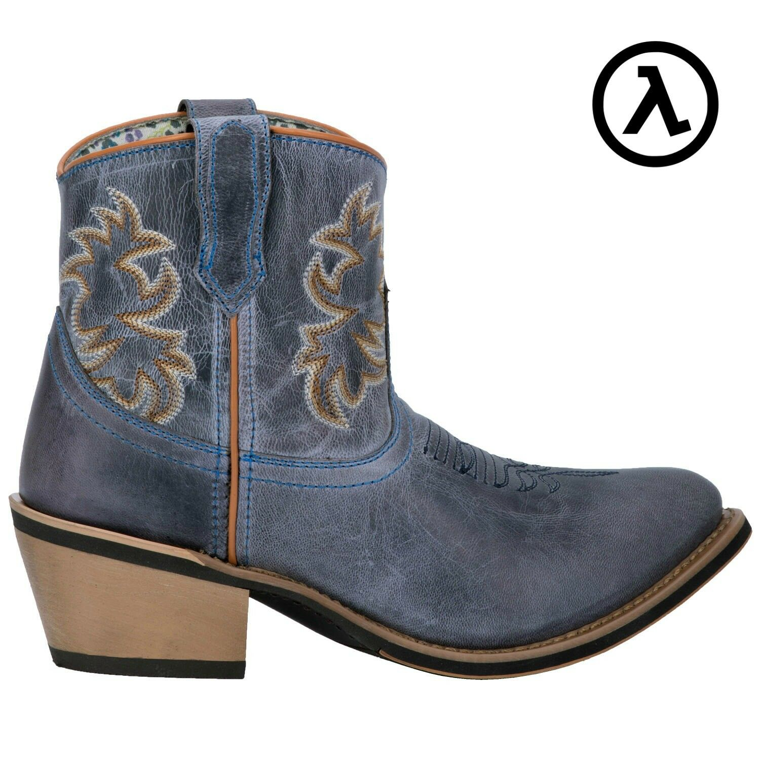 LAREDO NAVY SAPPHRYE 6  WOMEN'S SHORTIE WESTERN BOOTS 51026  ALL SIZES - NEW
