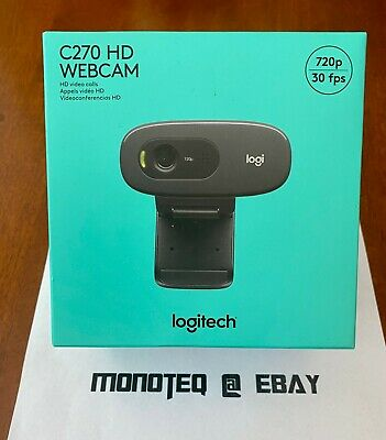 New Logitech C270 Hd 720p Webcam Usb 2 0 Web Camera Hd W Microphone For Pc Mac 97855070739 Ebay