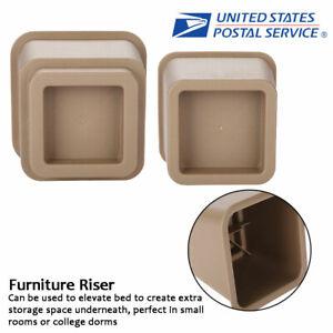 Amazing Details About Adjustable Furniture Raisers Chair Sofa Riser Feet Lift Set 4 X 5 4 X 3 Black Dailytribune Chair Design For Home Dailytribuneorg