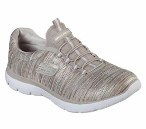 Details about Women's Skechers Summits Light Dreaming Taupe 12984TPE with Memory Foam