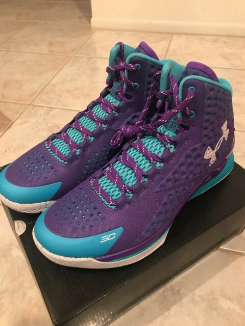 a19f7ed074d3a Under Armour Men s UA Curry One 1 Father to Son Hornets MVP Size 11 ...