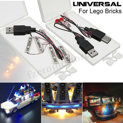 Universal LED Light Lighting Kit For Lego Toy Bricks Bar-type Lamp//Round Lamp