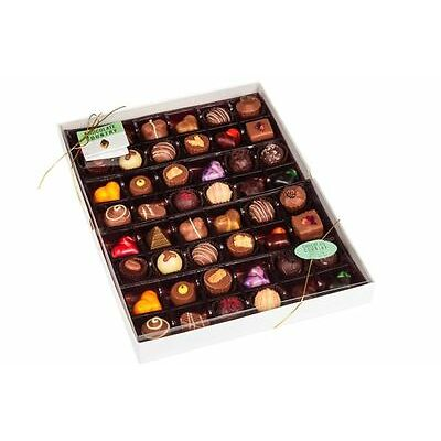 Gourmet Handmade Belgian Chocolates Mixed Box Gift for Her Him - Full Monty (48)