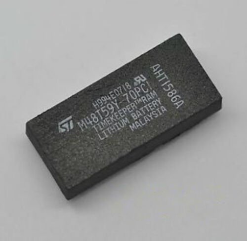 M48T59Y70PC1D 64 Kbit 8Kb x8 TIMEKEEPER SRAM INTEGRATED CIRCUIT DIP