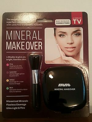 Mineral makeover. Self correcting foundation & concealer. 14 g. BNIP.