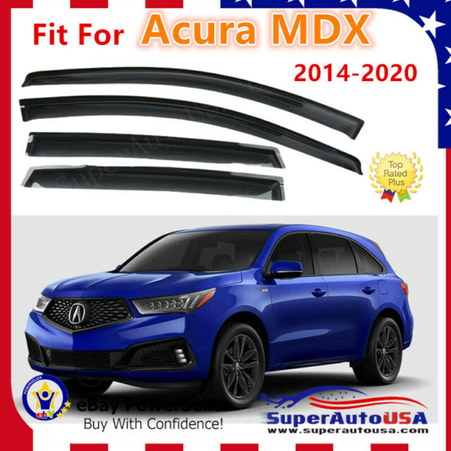 Fits Acura MDX 2014-2020 OEJDM Style Side Window Vent